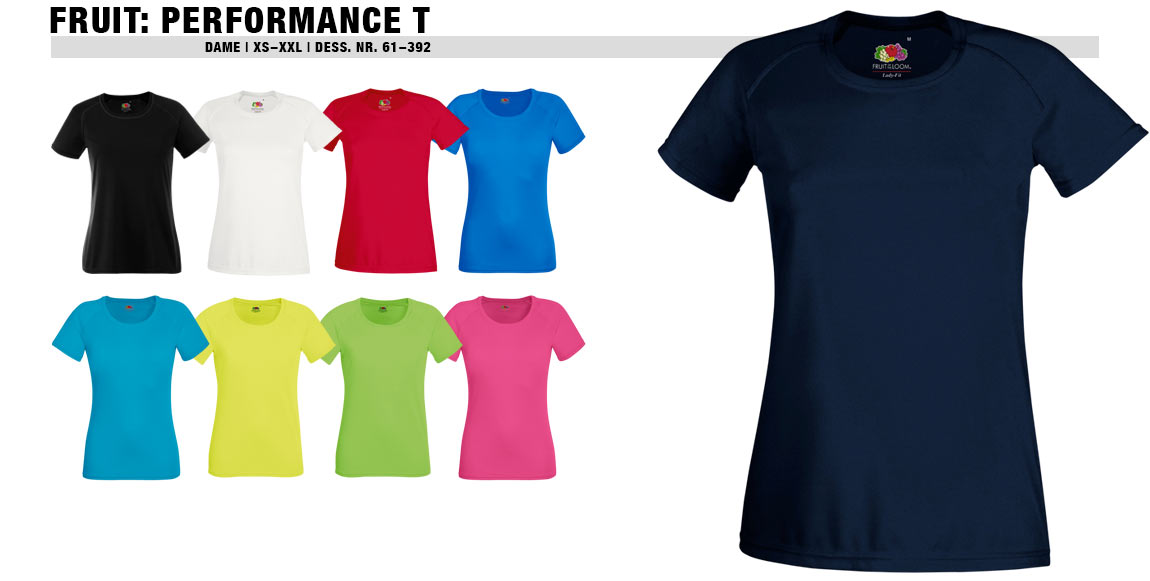 Fruit Performance T (Dame)