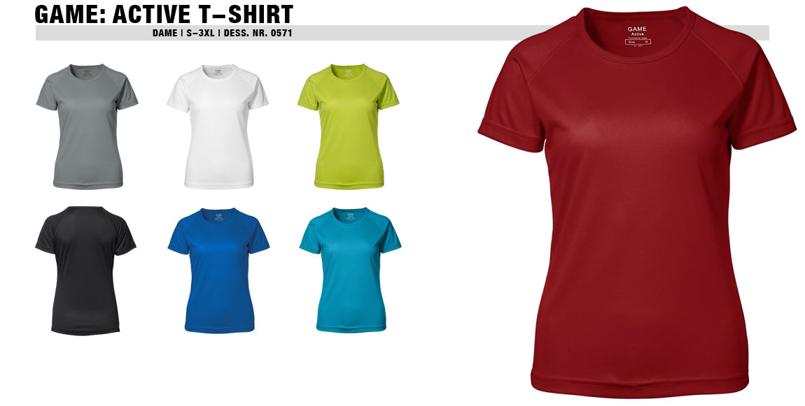 GAME: Active T-shirt (Dame)