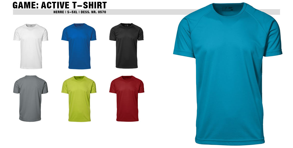 GAME: Active T-shirt (Herre)
