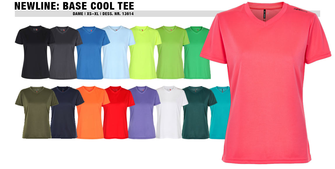 Newline Base Cool Tee (Dame)