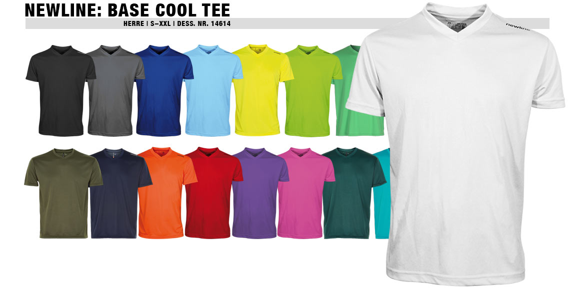 Newline Base Cool Tee (Herre)