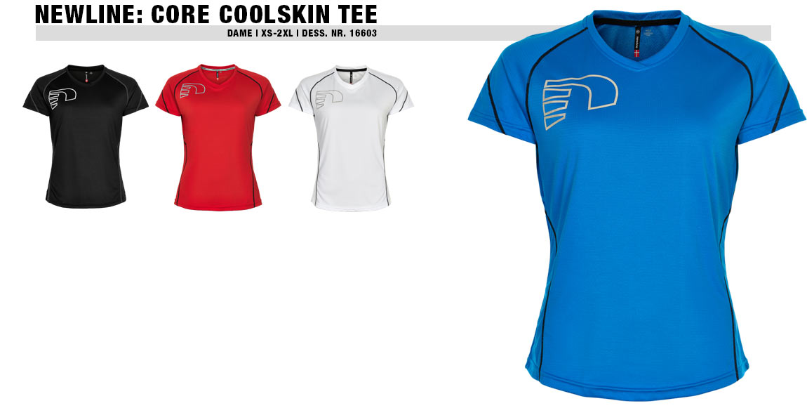 Newline Core Coolskin Tee (Dame)